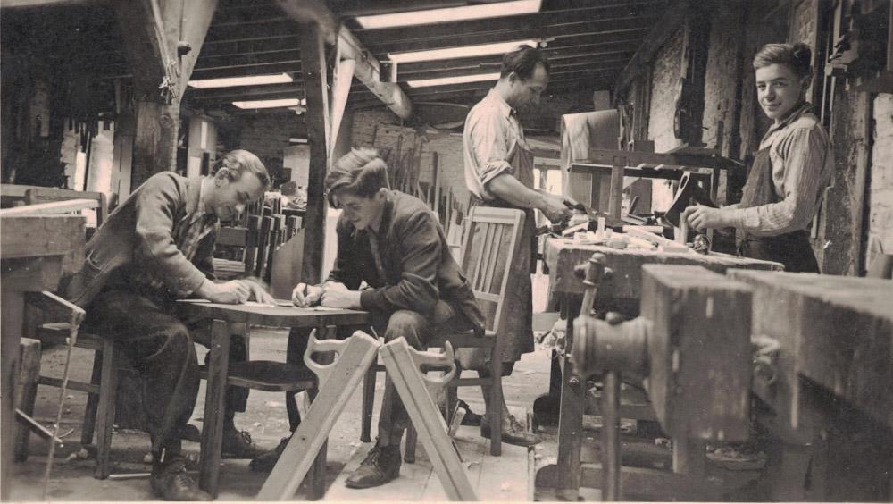 Anfange des Küchenstudios Schmitz 1932